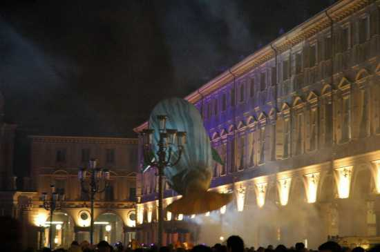 Torino: piazza S. Carlo notte bianca del gennaio 2007 (2179 clic)