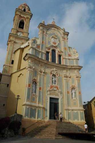 Cervo ligure:parrocchiale di S. Giovanni Battista (3962 clic)