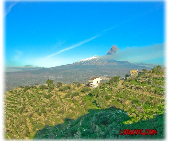 eruzione etna  - Centuripe (2422 clic)