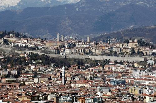 La città alta - Bergamo (10041 clic)