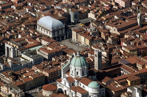 Piazza della Loggia - Brescia (5484 clic)