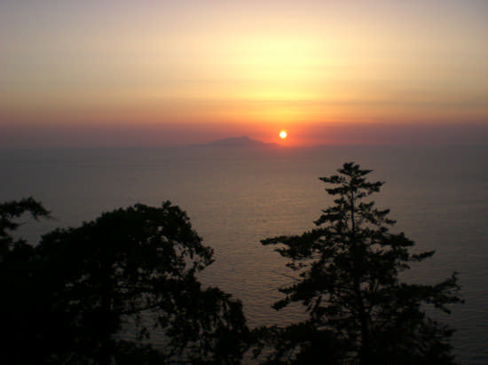 Il Tramonto con vista di Capri - Sorrento (2611 clic)