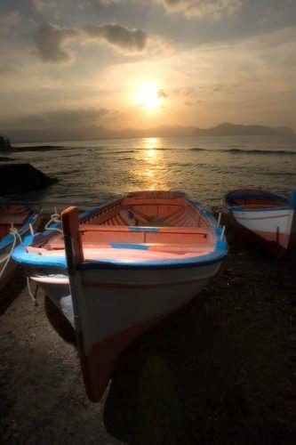 Aspra tramonto su Palermo (7261 clic)