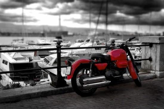 Moto Guzzi al porto - Messina (5649 clic)