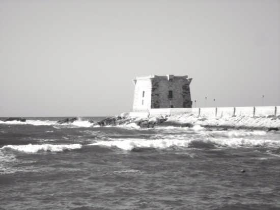 Torre di ligny in bianco e nero - Trapani (4294 clic)
