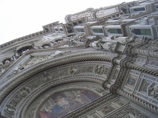 Il duomo da un'altra perspettiva - Firenze (1620 clic)