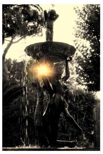Fontana di Parco Villa Adele - Anzio (1914 clic)