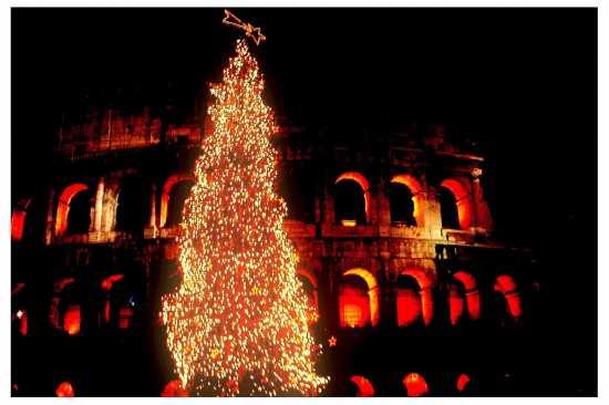 Coloseum di natale - Roma (4334 clic)