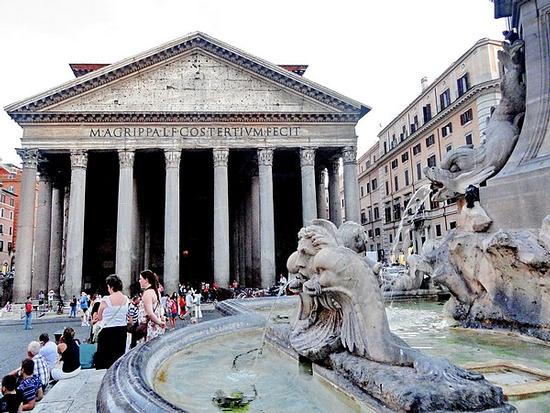 Il Phanteon - Roma (2130 clic)