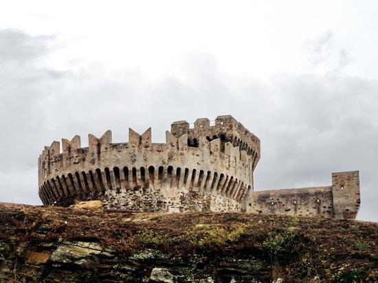 Il Castello di Populonia (1901 clic)