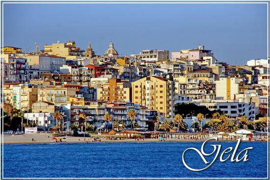 La città dal mare - Gela (1020 clic)