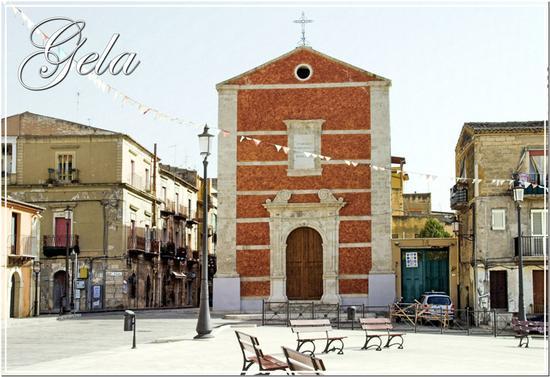 La chiesa del Carmine - Gela (1429 clic)