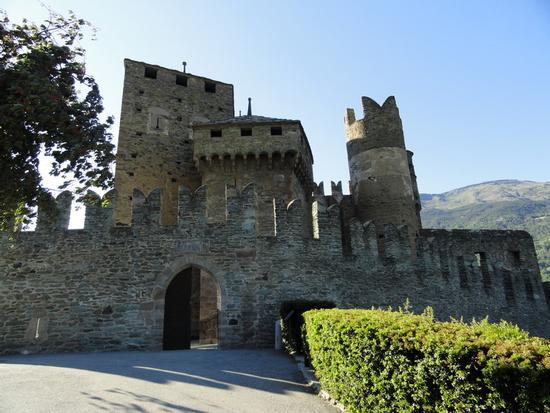 L'ingresso del castello - Fenis (2182 clic)