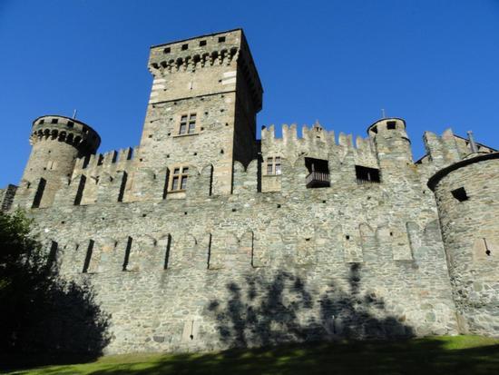 Le mura d'occidente del castello - Fenis (2591 clic)