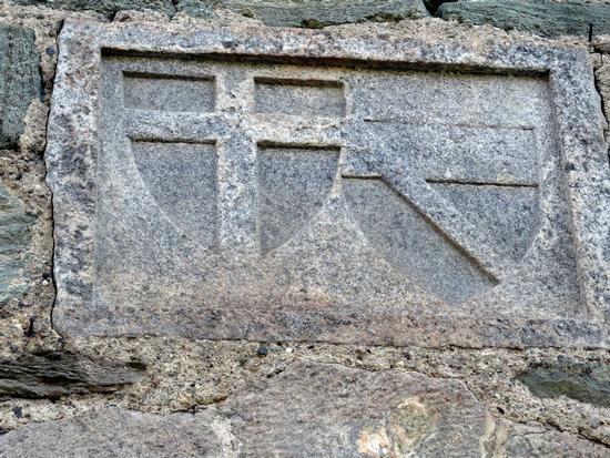 Castello di Fénis, gli stemmi di famiglia - Fenis (2846 clic)