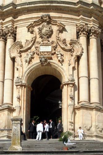 Il portale della Cattedrale di San Giorgio - Modica (2569 clic)