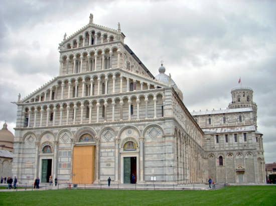 Piazza dei Miracoli - Pisa (1823 clic)