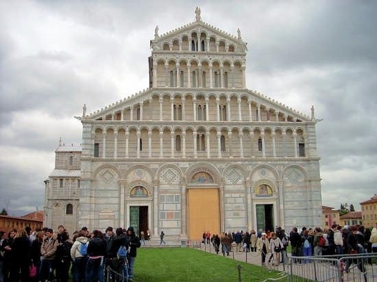 Piazza dei Miracoli - Pisa (1735 clic)