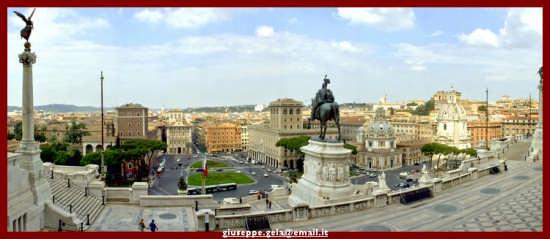 Dall'Altare della Patria - Roma (1777 clic)