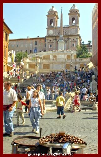 Piazza di Spagna - Roma (1681 clic)