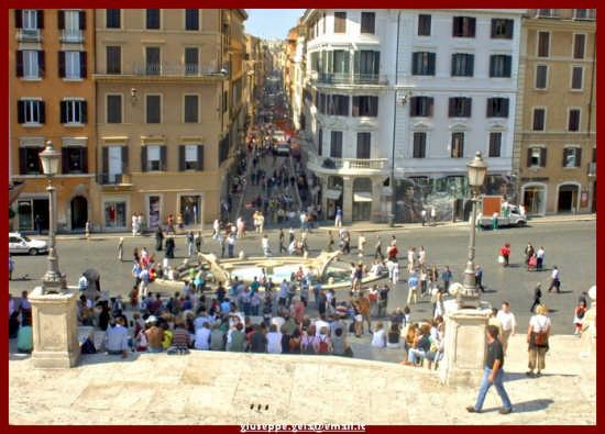 Piazza di Spagna - Roma (1487 clic)