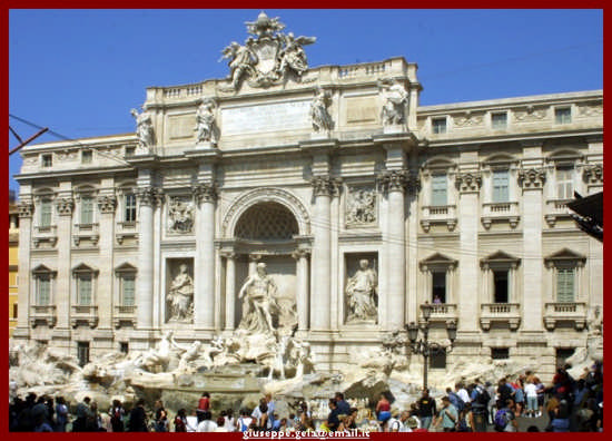 La fontana di Trevi - Roma (1606 clic)