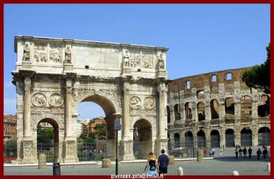 L'Arco di Costantino - Roma (1869 clic)