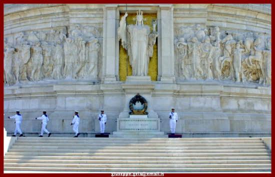 Cambio della guardia - Roma (2241 clic)