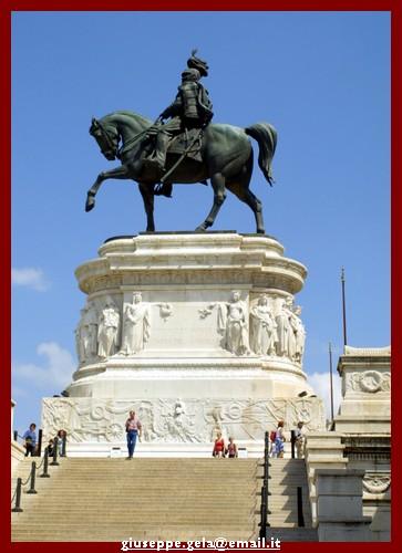 Altare della Patria - Particolare - Roma (2030 clic)