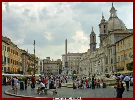 Piazza Navona - Roma (2105 clic)