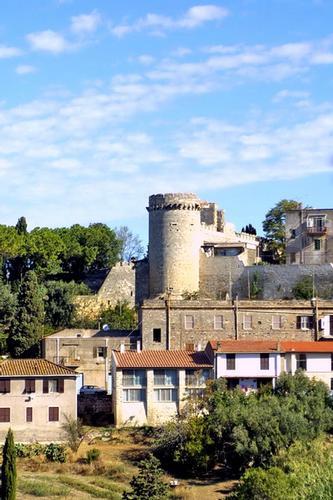 Panorama della citta - Tarquinia (1973 clic)