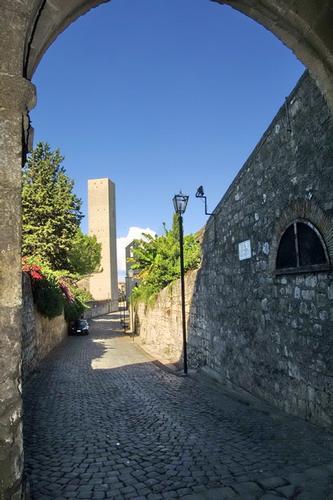 Torre nel Castello - Tarquinia (1942 clic)