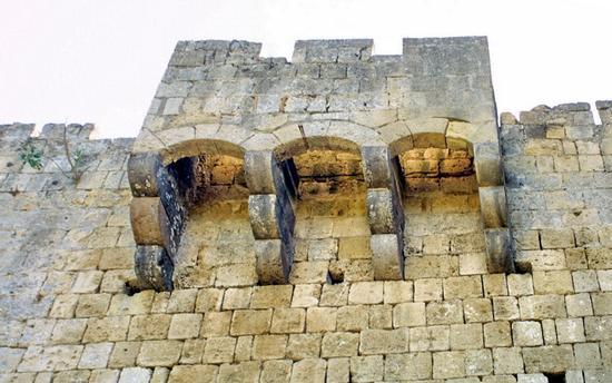 Particolare del Castello - Tarquinia (2201 clic)