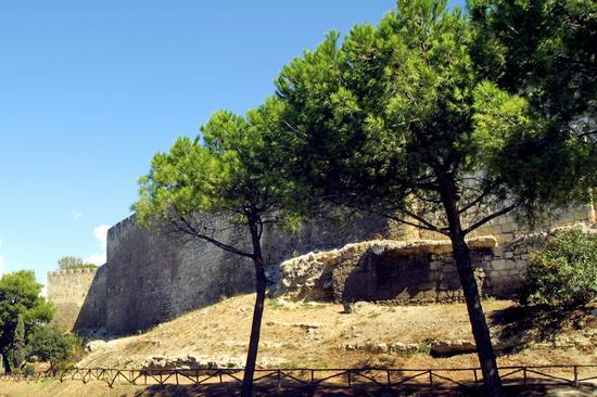 Le mura della citta - Tarquinia (2192 clic)