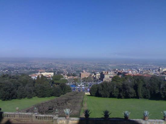 vista da villa aldobrandini - Frascati (4453 clic)