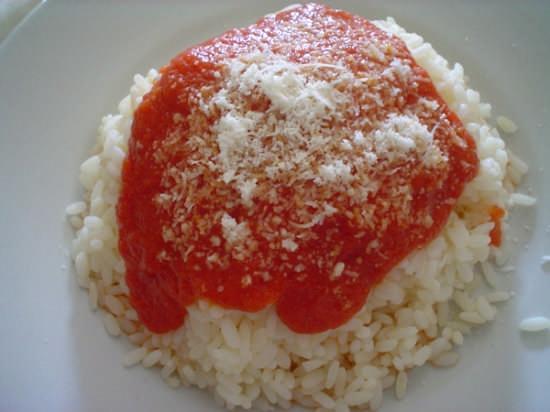 Riso al pomodoro  - Palermo (7537 clic)