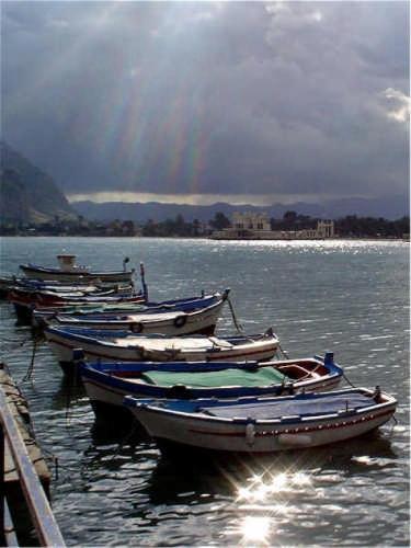 barche a Mondello (4074 clic)