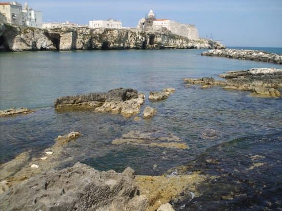 Antico porto di Vieste della ripa (4853 clic)