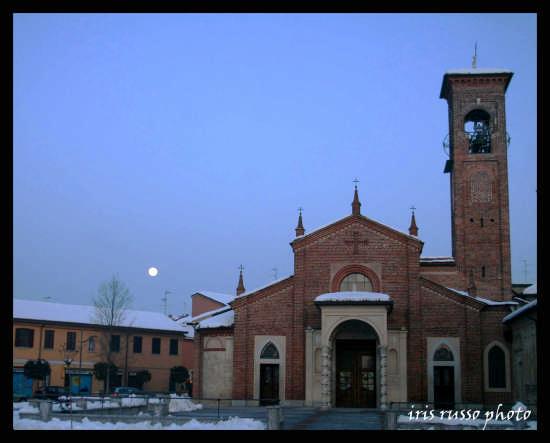 chiesa di san martino, carpiano (3479 clic)