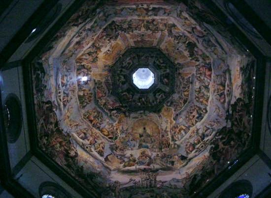 Santa Maria Del Fiore Gli Affreschi del Vasari - Firenze (3380 clic)