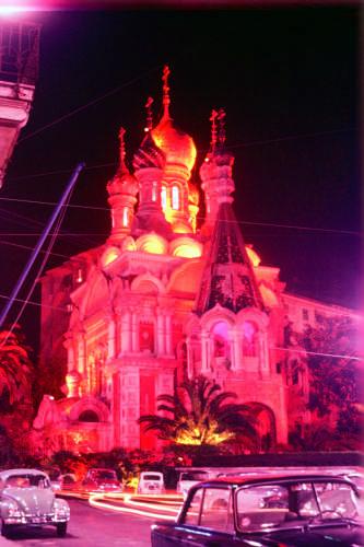 Sanremo come era una volta. La Chiesa Russa - SANREMO - inserita il 30-May-09