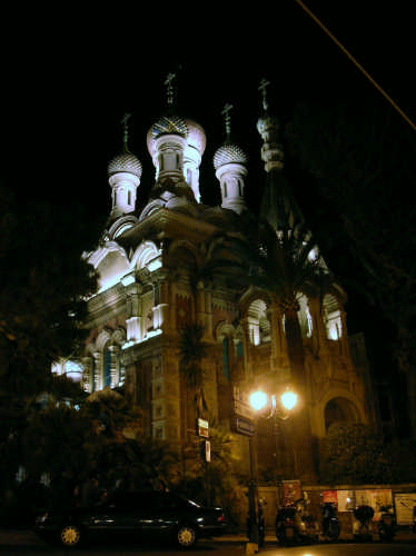 Sanremo oggi. La Chiesa Russa (2918 clic)