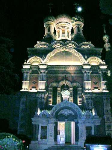 la chiesa russa  - Sanremo (2773 clic)
