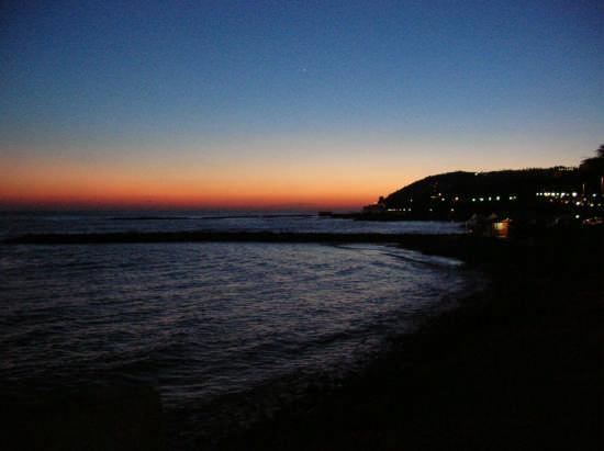 Tramonto sul mare - Sanremo (4770 clic)