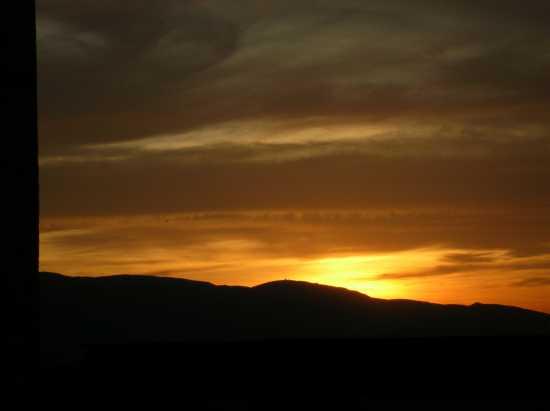 tramontop dalla rocca dei papi - Spoleto (2156 clic)