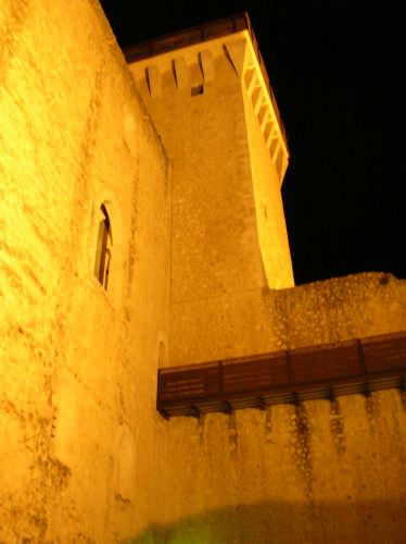 notte alla rocca - Spoleto (2472 clic)