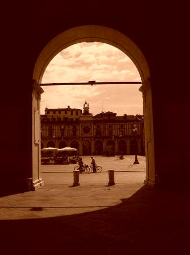 Brescia antica Piazza della Loggia (4112 clic)