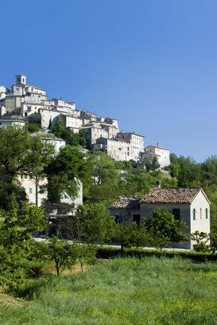 Arcevia, veduta del borgo di Palazzo (2958 clic)