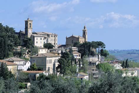 Castel Colonna, veduta del borgo - Castelbellino (2124 clic)