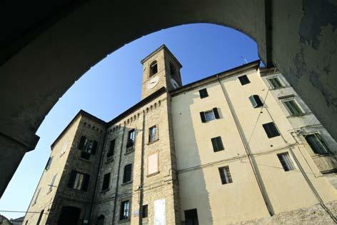 Castelplanio, centro storico. Palazzo dei Priori (2349 clic)